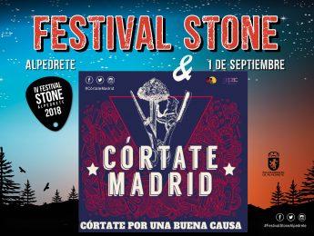 Imagen de la noticia Córtate Madrid: solidaridad a ritmo de Festival Stone