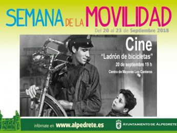 Imagen de la noticia Cine: «Ladrón de bicicletas». Semana de la Movilidad