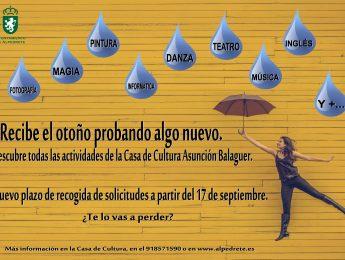 Imagen de la noticia Inscripciones talleres Casa de Cultura