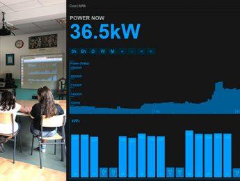 Imagen de la noticia Los colegios ya conocen su consumo eléctrico al instante