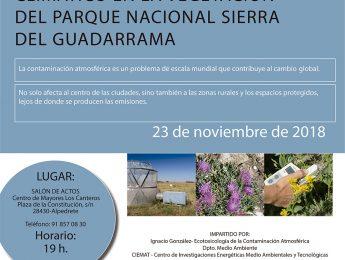 Imagen de la noticia Contaminación atmosférica en la Sierra de Guadarrama