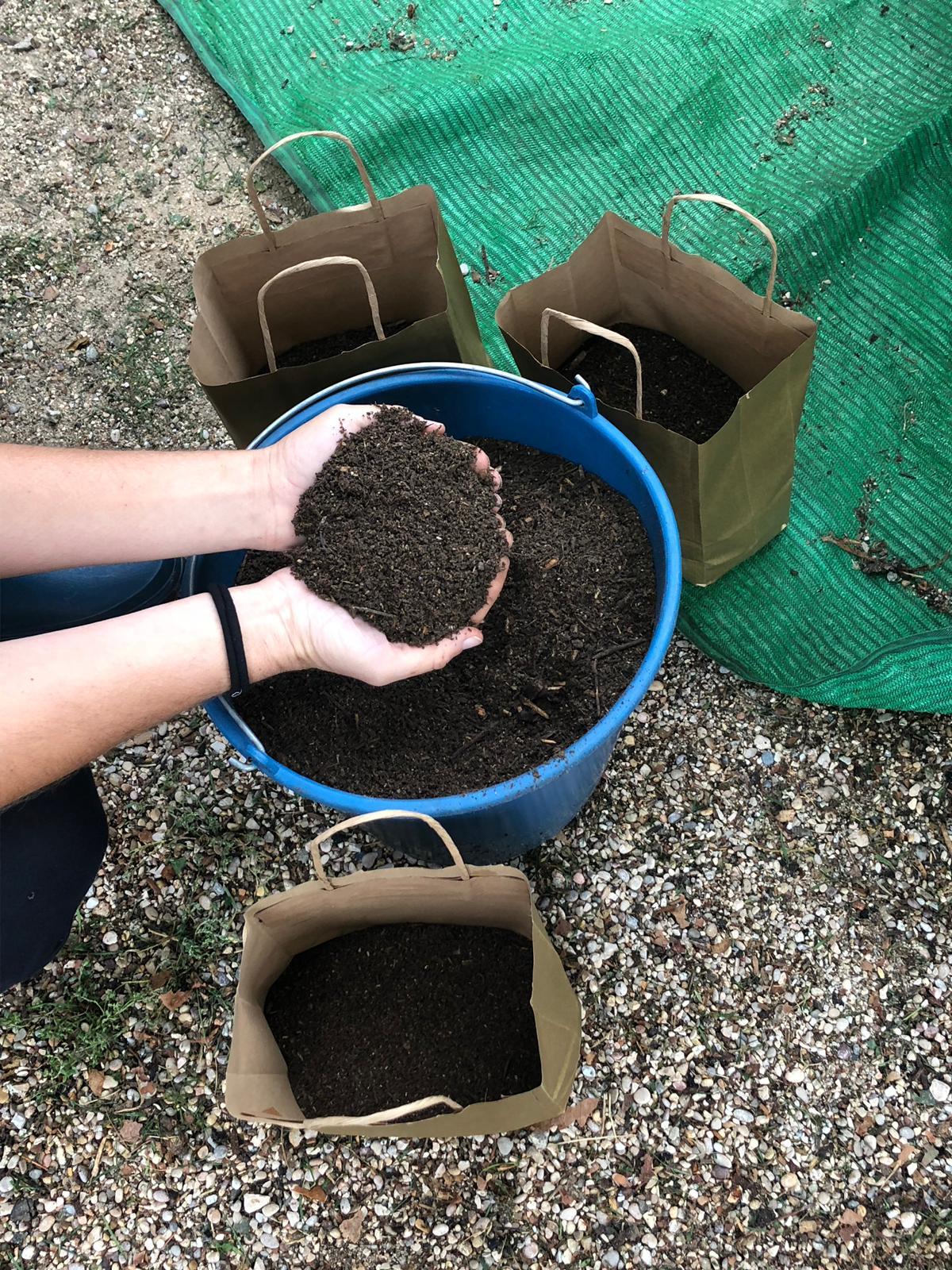 Imagen de la noticia Segunda fase de compostaje doméstico