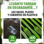 Imagen de la noticia Los cubiertos de plástico tardan 400 años en degradarse