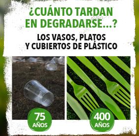 Los Cubiertos De Plástico Tardan 400 Años En Degradarse Web Ayuntamiento De Alpedrete