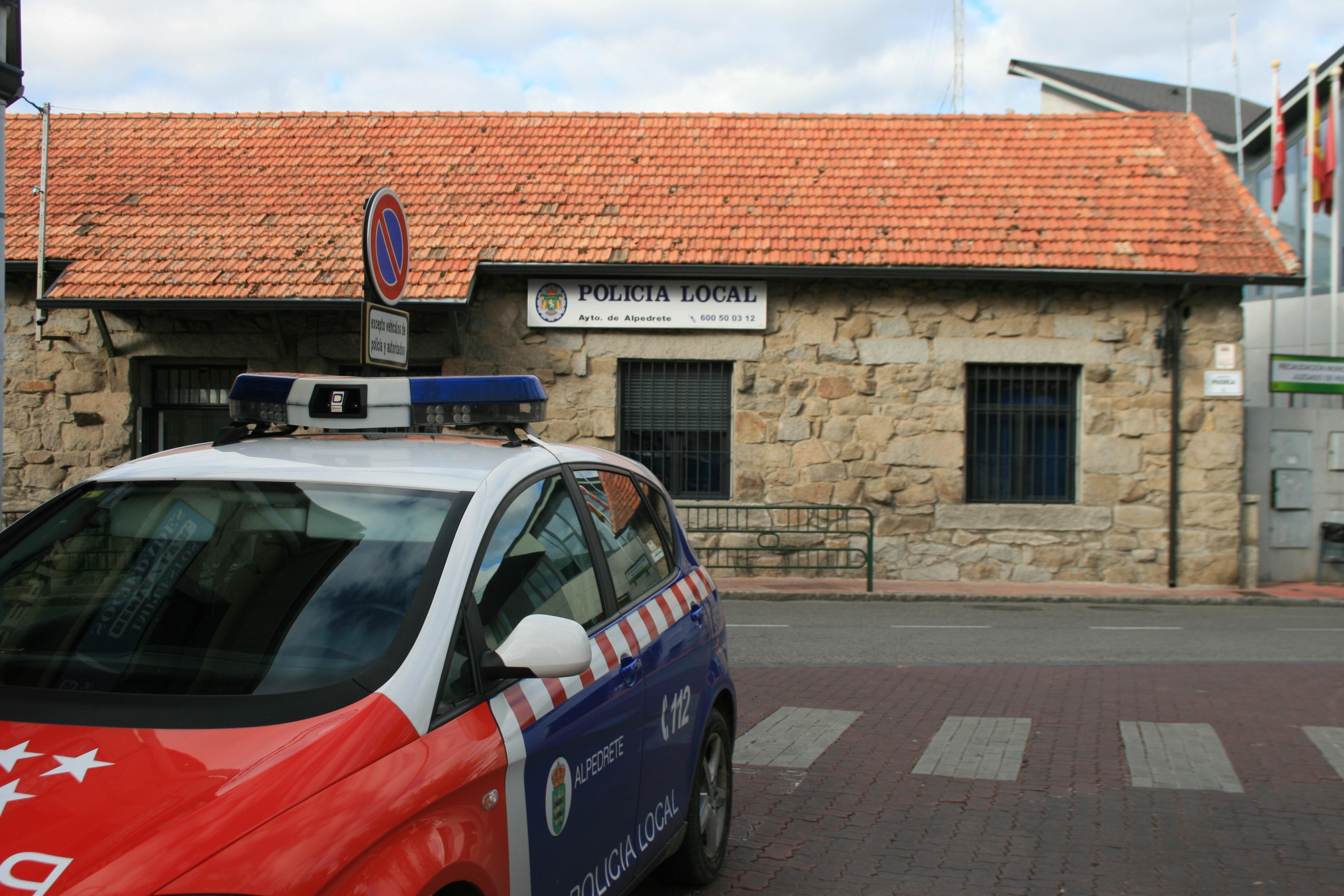 Imagen de la noticia Alpedrete es un municipio seguro con Policía Local suficiente