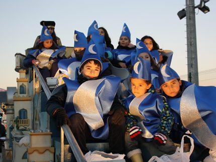 Imagen de la noticia Pajes y acompañantes de los Reyes Magos