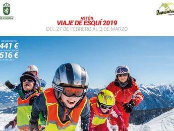 Imagen de la noticia Inscripciones : esquí Astún 2019