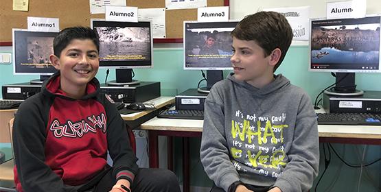 Imagen de la noticia Javier y Aitor ganadores del concurso nacional de Jóvenes Reporteros