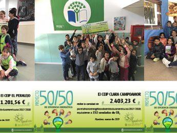 Imagen de la noticia Tres colegios ahorraron 9.800 euros en energía en el curso 2017/2018