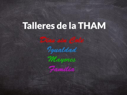 Imagen de la noticia Talleres y actividades de la THAM del mes de abril