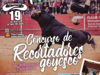 Imagen de la noticia Concurso de Recortadores Goyesco