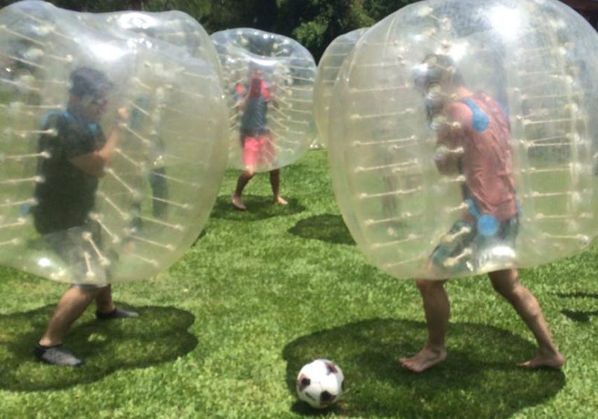 Imagen de la noticia Humor amarillo y fútbol bubble, abiertas las inscripciones