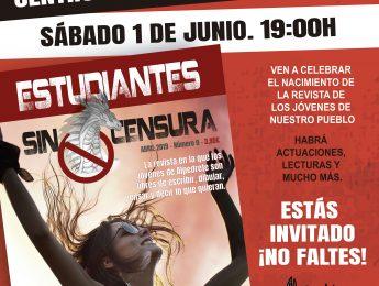Imagen de la noticia Fiesta de presentación. Revista «Estudiantes sin censura»