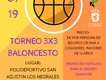 Imagen de la noticia I Torneo de Baloncesto 3×3 – Fiestas de Los Negrales
