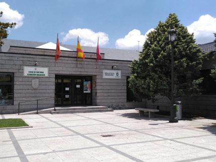 Imagen de la entrada de la Casa de la Cultura