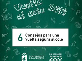 Imagen de la noticia Vuelta al cole segura 2019