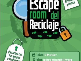 Imagen de la noticia Llega a Alpedrete el Scape Room del Reciclaje