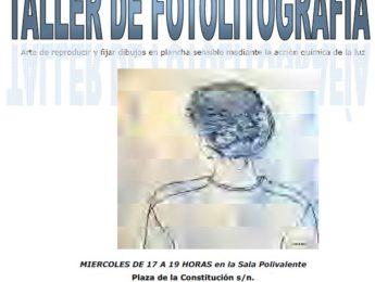 Imagen de la noticia Taller de fotolitografía