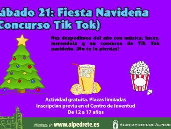 Imagen de la noticia Noche Joven. Fiesta navideña-concurso Tik Tok