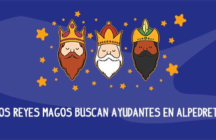 Imagen de la noticia ¡Los Reyes Magos buscan ayudantes!