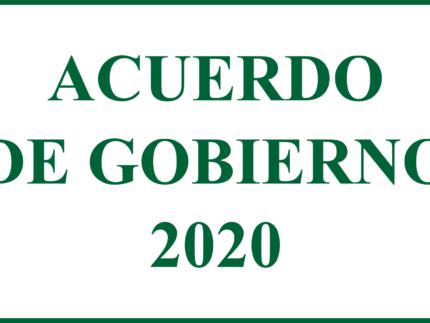 Imagen de la noticia Acuerdo de Gobierno Alpedrete 2020