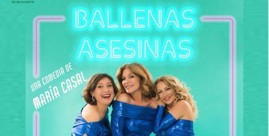 Imagen de la noticia «Ballenas asesinas», una comedia de María Casal