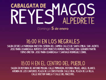 Imagen de la noticia Los Reyes Magos llegan a Alpedrete