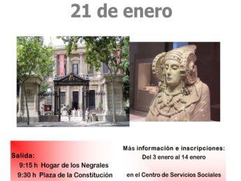 Imagen de la noticia Salida cultural. Museo Arqueológico