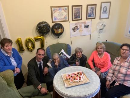 Imagen de la noticia Celebramos con Irene Paz Cadalso su 107 cumpleaños