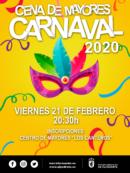 Imagen de la noticia Cena de mayores- carnaval 2020