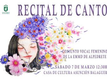 Imagen de la noticia Recital de Canto