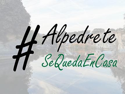 Imagen de la noticia Estrenamos canal en YouTube para seguir contigo : #AlpedreteSeQuedaEnCasa