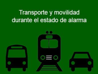 Imagen de la noticia Información y recomendaciones sobre transporte y movilidad durante el estado de alarma