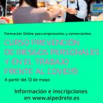Imagen de la noticia Curso de prevención de riesgos personales y en el trabajo frente a COVID19