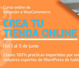 Imagen de la noticia Curso creación de tienda online con WooCommerce