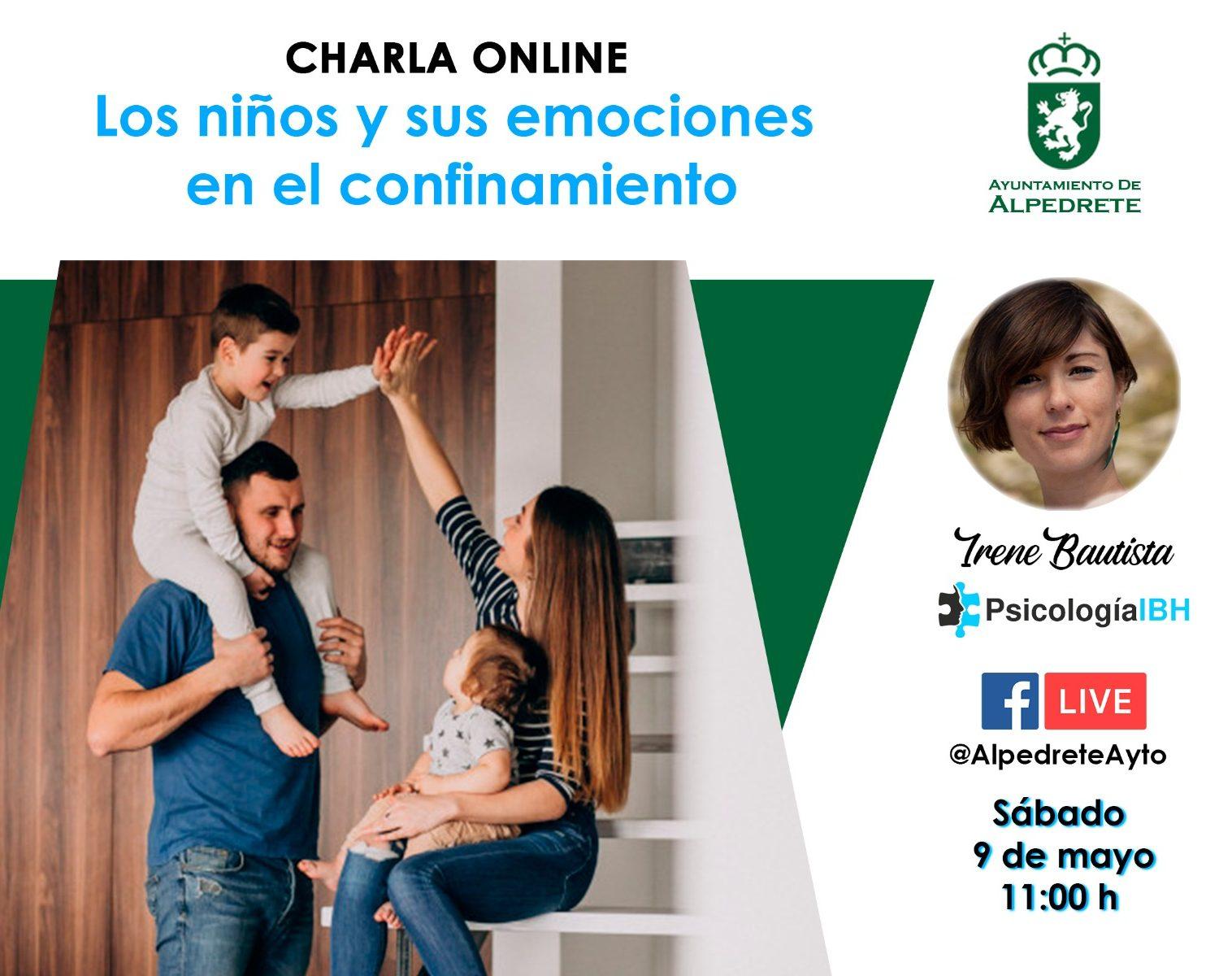 Imagen de la noticia Charla online: Los niños y sus emociones en el confinamiento