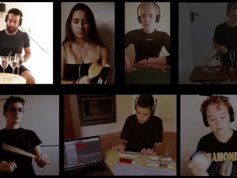 Imagen de la noticia Fin de curso del grupo de percusión de la EMMD de Alpedrete