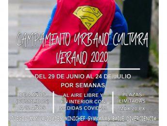 Imagen de la noticia Campamento urbano de Cultura para el Verano 2020