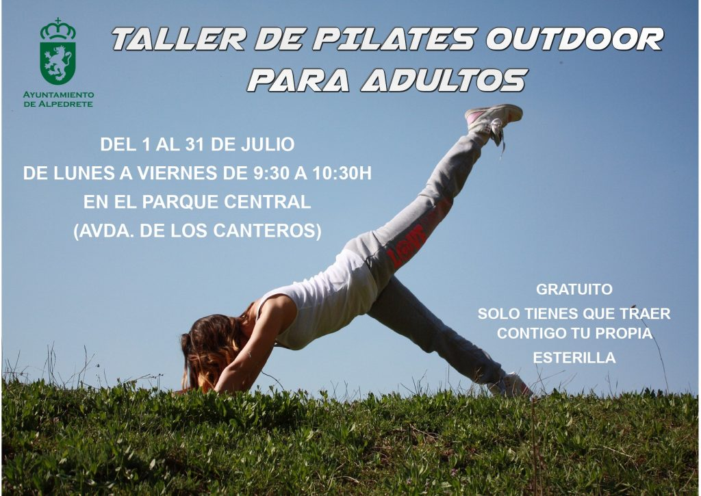 Taller Pilates Julio 2020