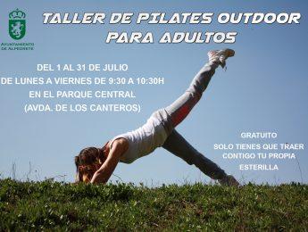 Imagen de la noticia Taller de pilates outdoor para adultos
