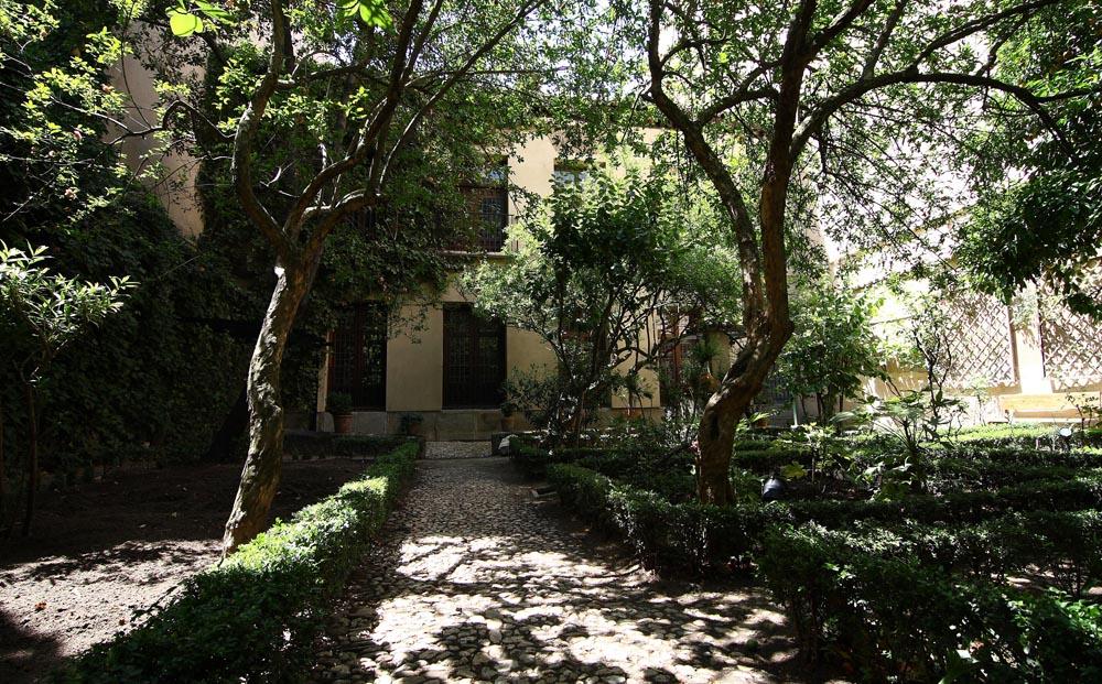 Jardin casa Museo Lope de Vega