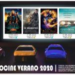 Cartel peliculas julio 2020