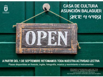 Casa Cultura Asuncion Balaguer