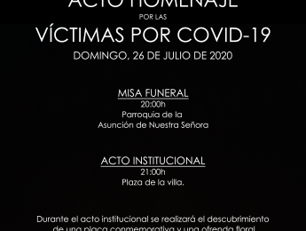 Imagen de la noticia Acto Homenaje por las víctimas del COVID-19
