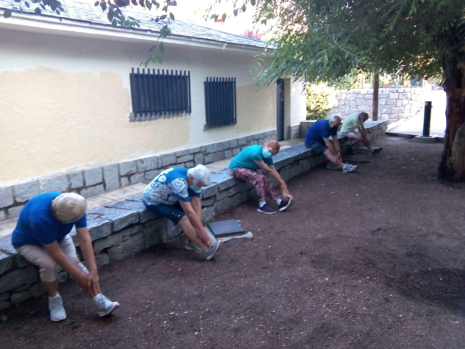 Imagen de la noticia Concluyen los talleres de gimnasia al aire libre