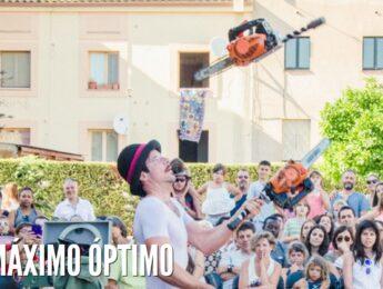 Imagen de la noticia Espectáculo de calle «Máximo Óptimo»