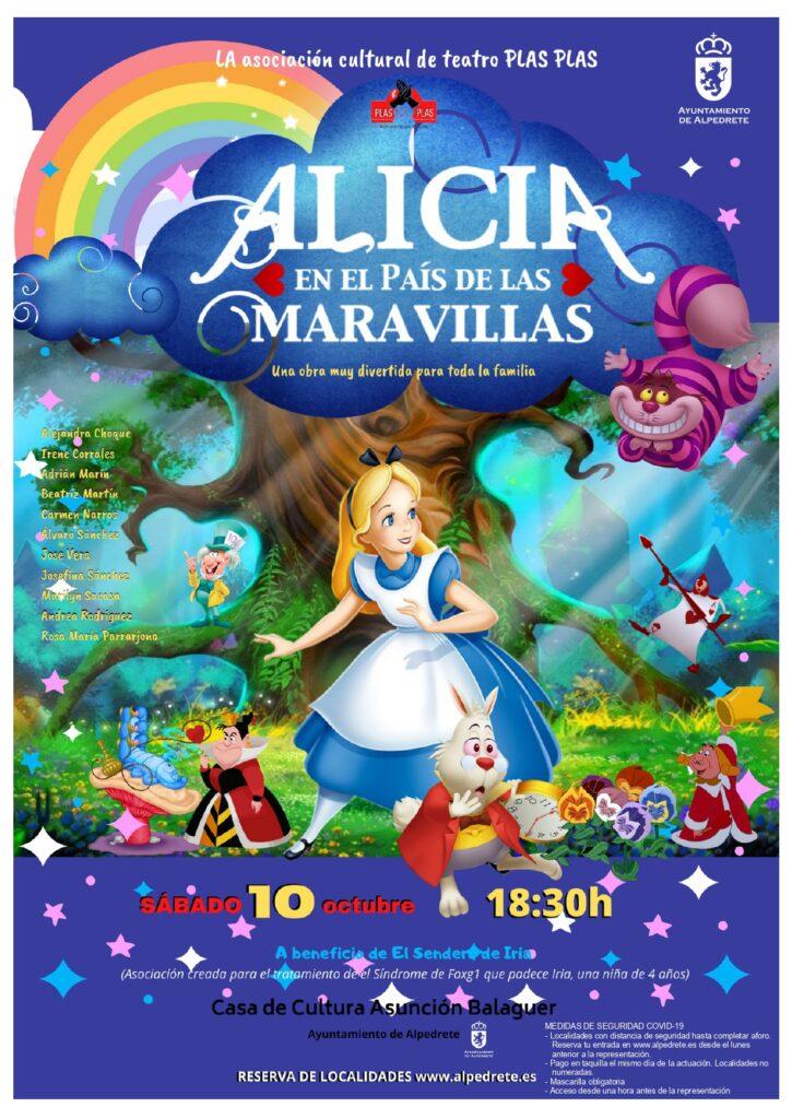 Alicia en el pais de la maravillas teatro