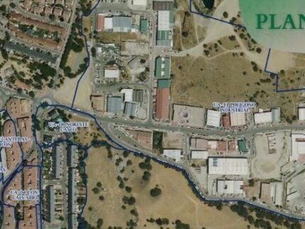 Vista aerea Alpedrete