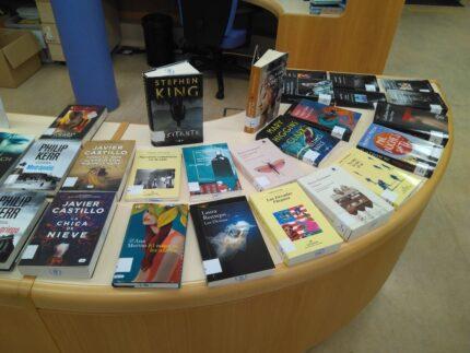 Imagen de la noticia Novedades bibliográficas de octubre en la Biblioteca Municipal