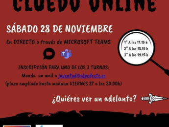 Imagen de la noticia Cluedo on line